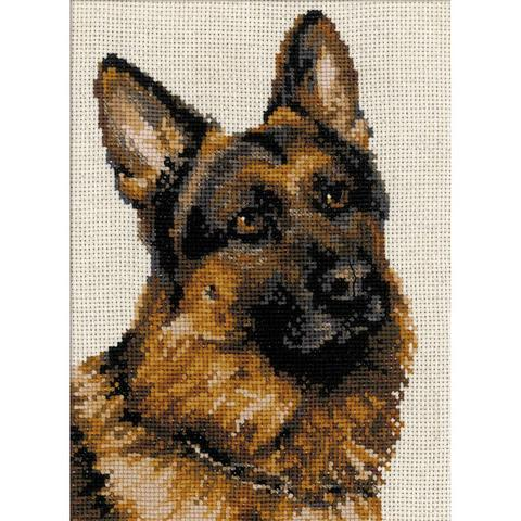 German ShepherdCounted Cross Stitch Kit - German Shepherd