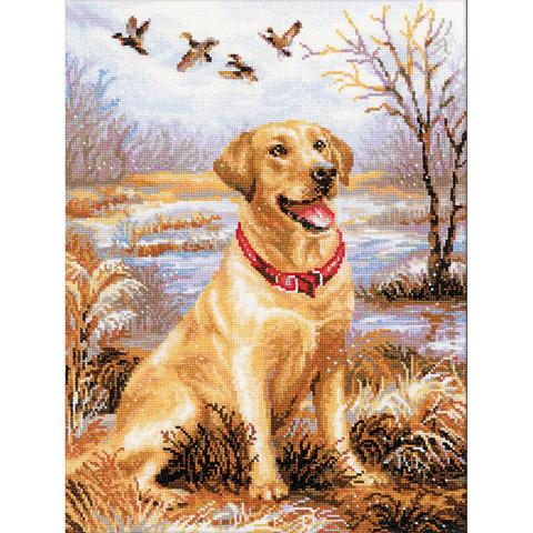 RIOLIS Counted Cross Stitch Kit - Labrador