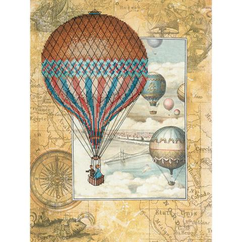 RIOLIS Stamped Cross Stitch Kit - Around The World