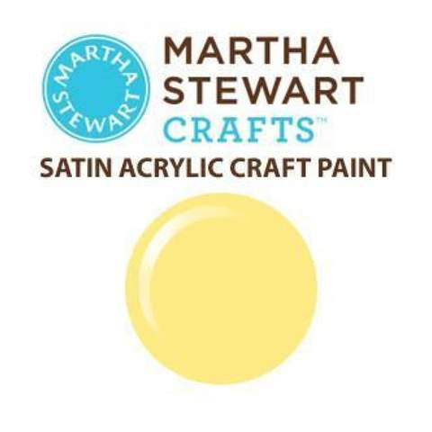 Martha Stewart Satin Acrylic Craft Paint - Couscous