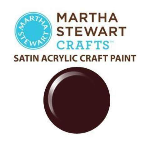 Martha Stewart Satin Acrylic Craft Paint - Chipotle
