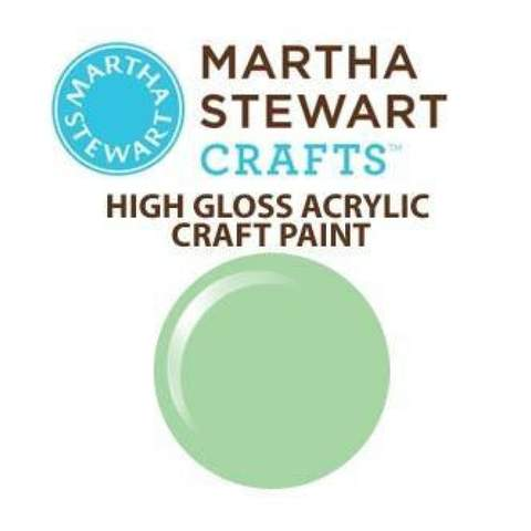 Martha Stewart High Gloss Acrylic Craft Paint - Gray Wolf
