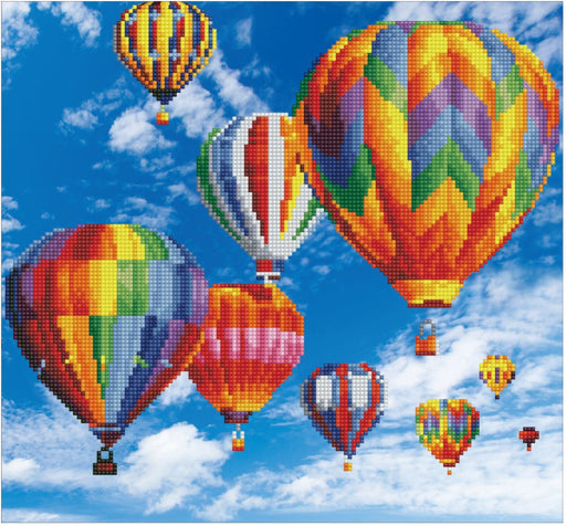 Diamond Dotz Kit - Hot Air Balloons