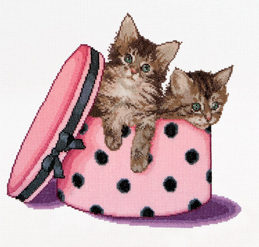 Kitten Twins - Cross-Stitch Kit