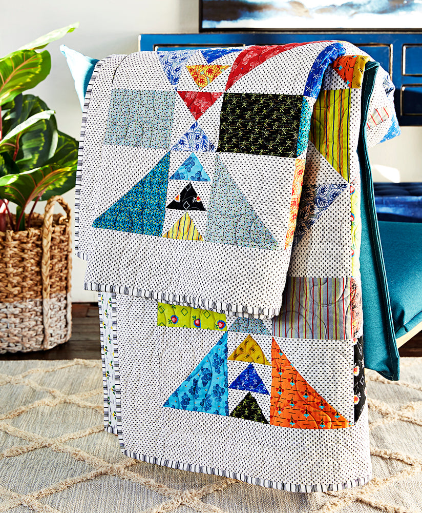 Chasing Geese Quilt Kit