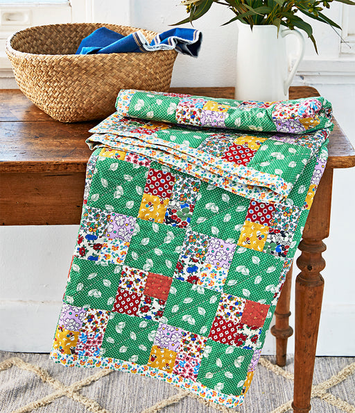 Four Patch Quilt kit