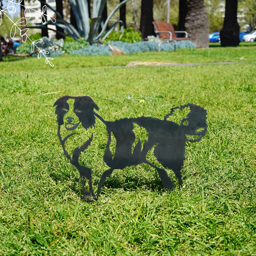 Australian Shepherd Garden Art - regular size
