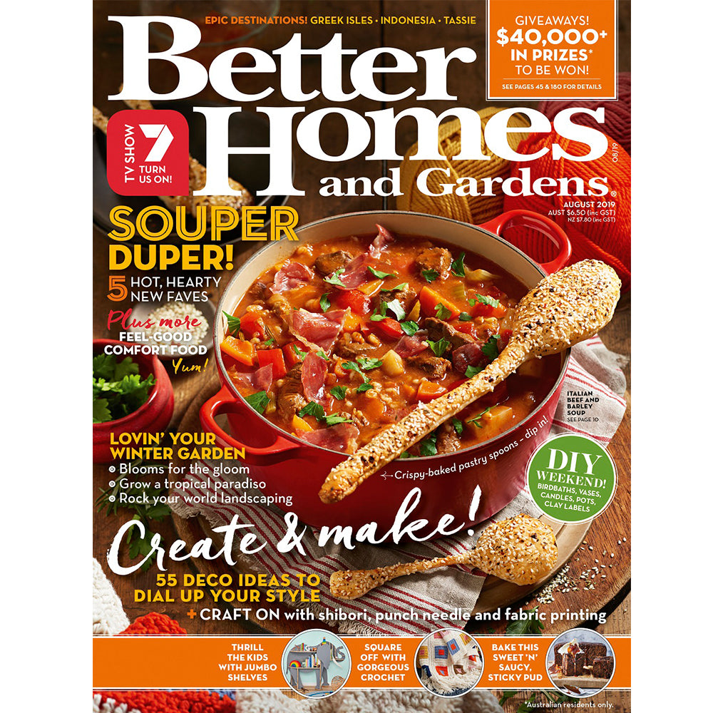 Better Homes and Gardens - August 2019
