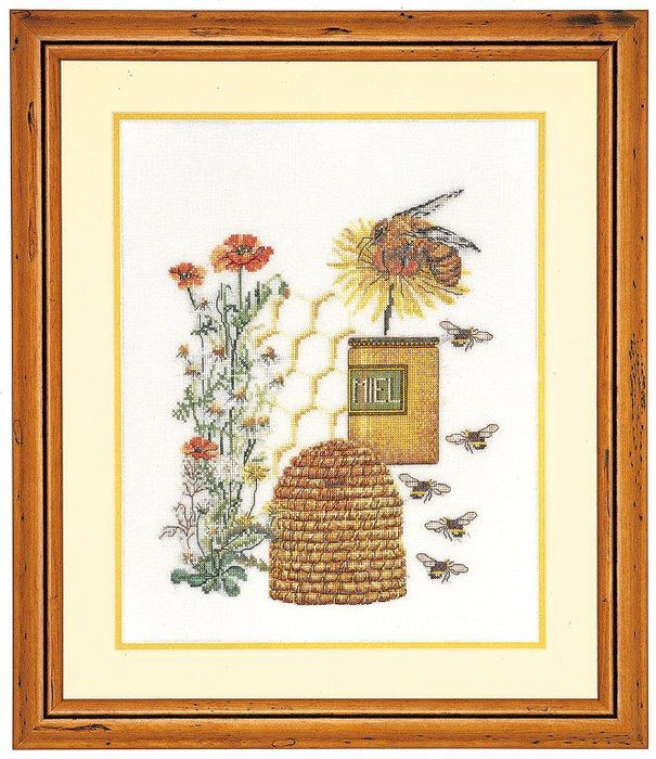 Honey Sampler - Cross-Stitch Kit