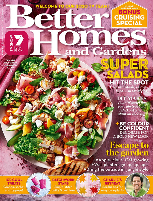 Better Homes and Gardens - March 2020