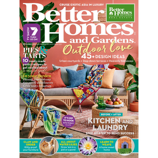 Better Homes and Gardens- November 2019