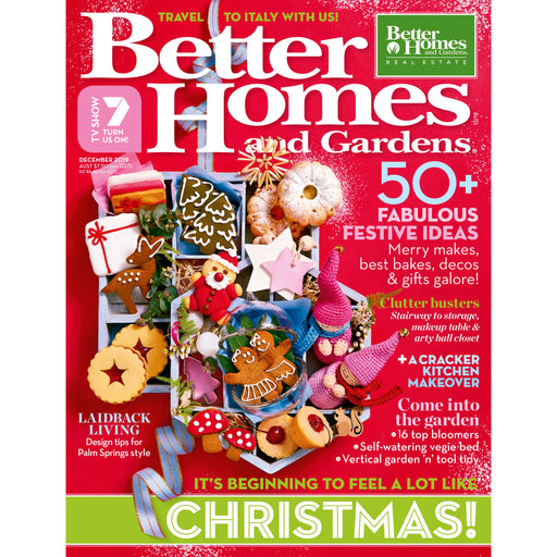 Better Homes and Gardens - December 2019
