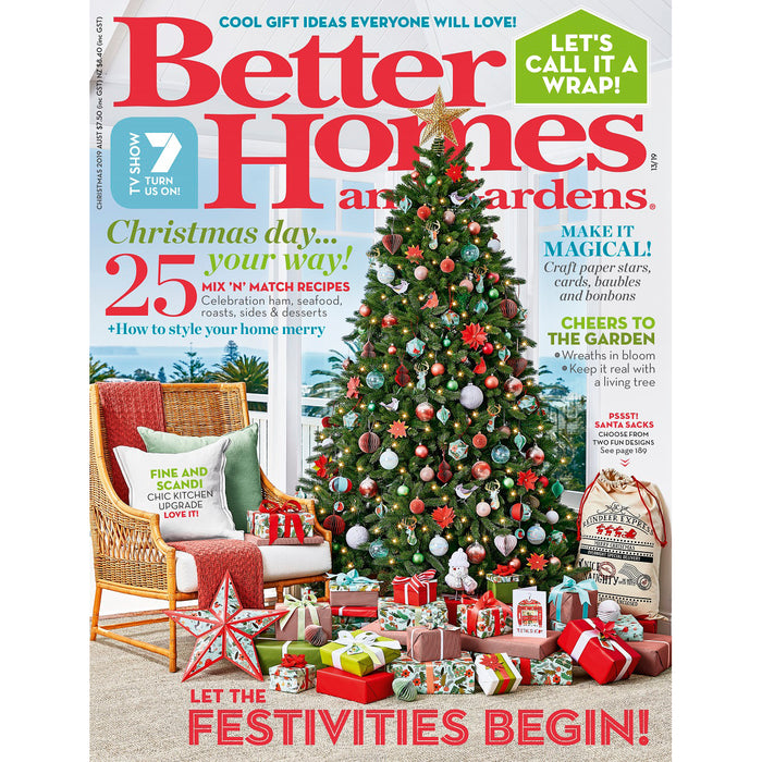 Better Homes and Gardens - Christmas 2019
