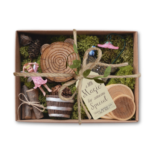 Fairy Garden Kit in a Box - Woodland Charms