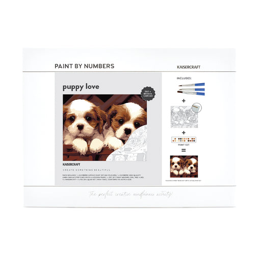 Paint By Numbers - Puppy Love