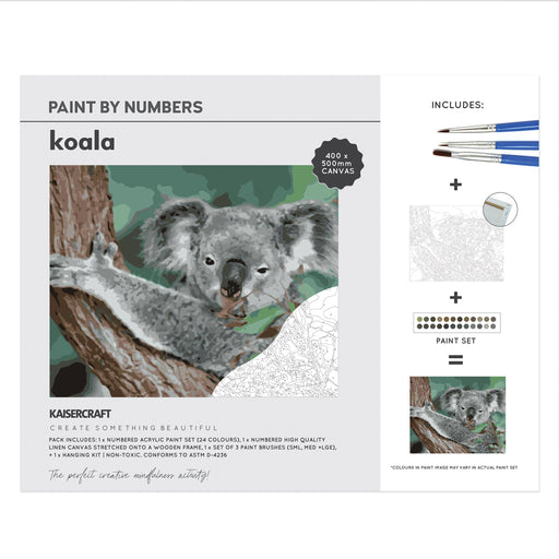 Paint By Numbers - Koala
