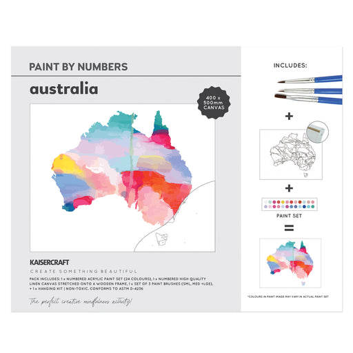 Paint By Numbers - Australia