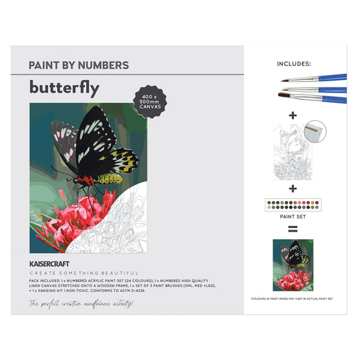 Paint By Numbers - Butterfly