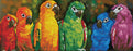 Diamond Dotz Kit - Rainbow Parrots