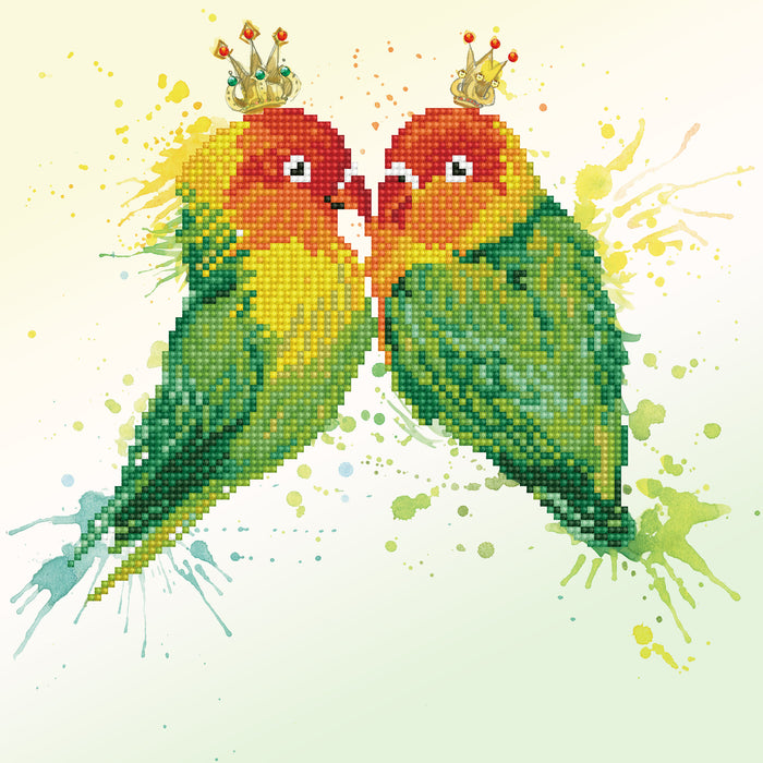 Diamond Dotz Kit - Love Birds