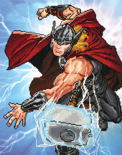 Diamond Dotz Marvel Thor Strikes