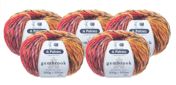 Gembrook Chunky Yarn - 5 Pack