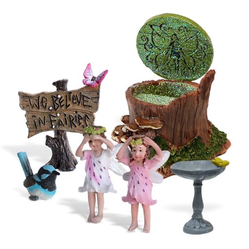 Butterfly Dell Fairy Garden Kit