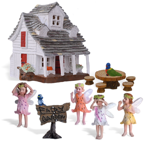 Rainbow Meadows Fairy Garden Kit
