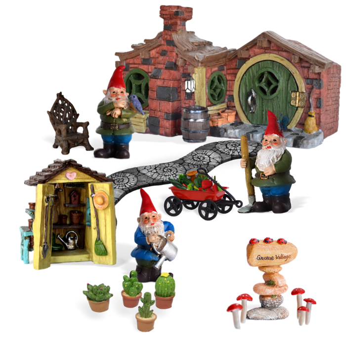 Gnome Village Garden Kit