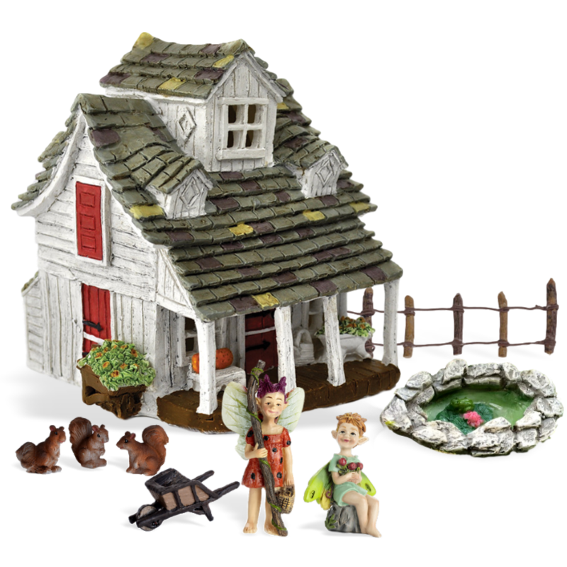 Cottingley Cottage Fairy Garden Kit
