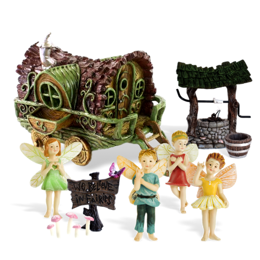 The Travellers Fairy Garden Kit