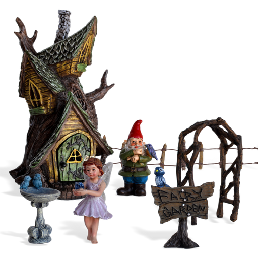 Bluebird Haven Fairy Garden Kit
