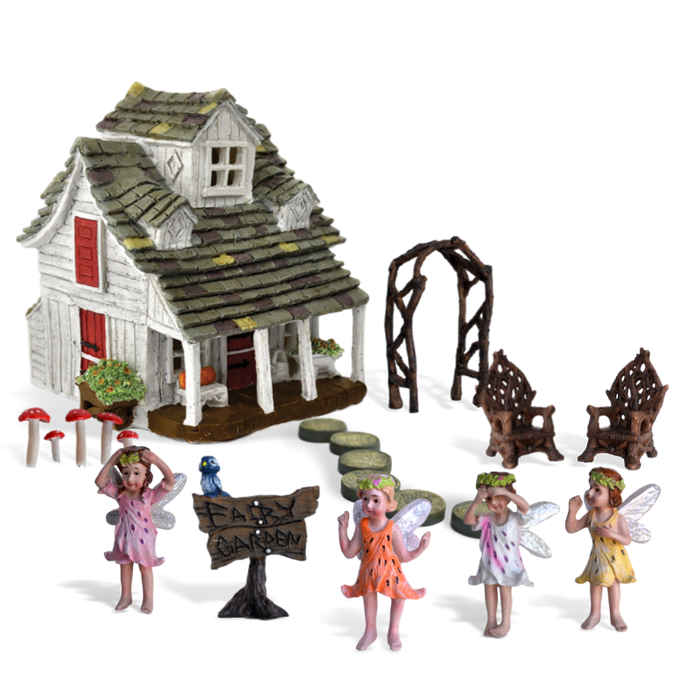 Sweet Meadows Fairy Garden Kit