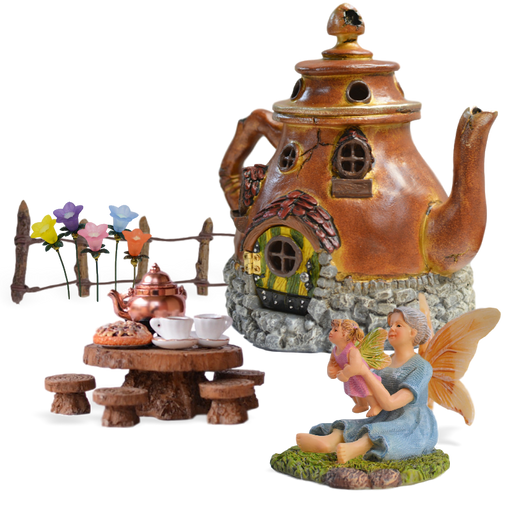 Grandma's Fairy Garden Kit