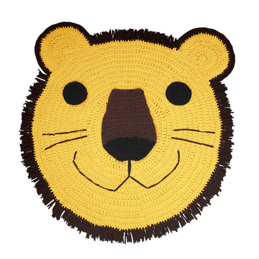 DIY Lion Crochet Rug Kit