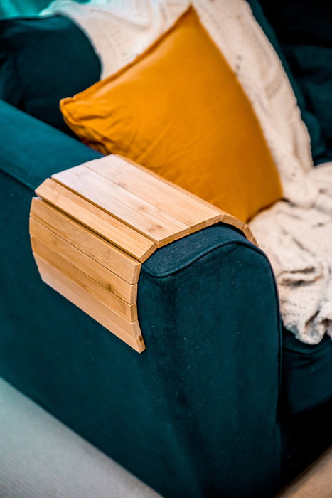 Couchmate - The Best Selling Bamboo Multi-Fit Couch Arm Table