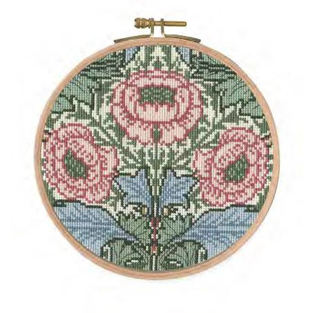 William Morris Myrtle with hoop