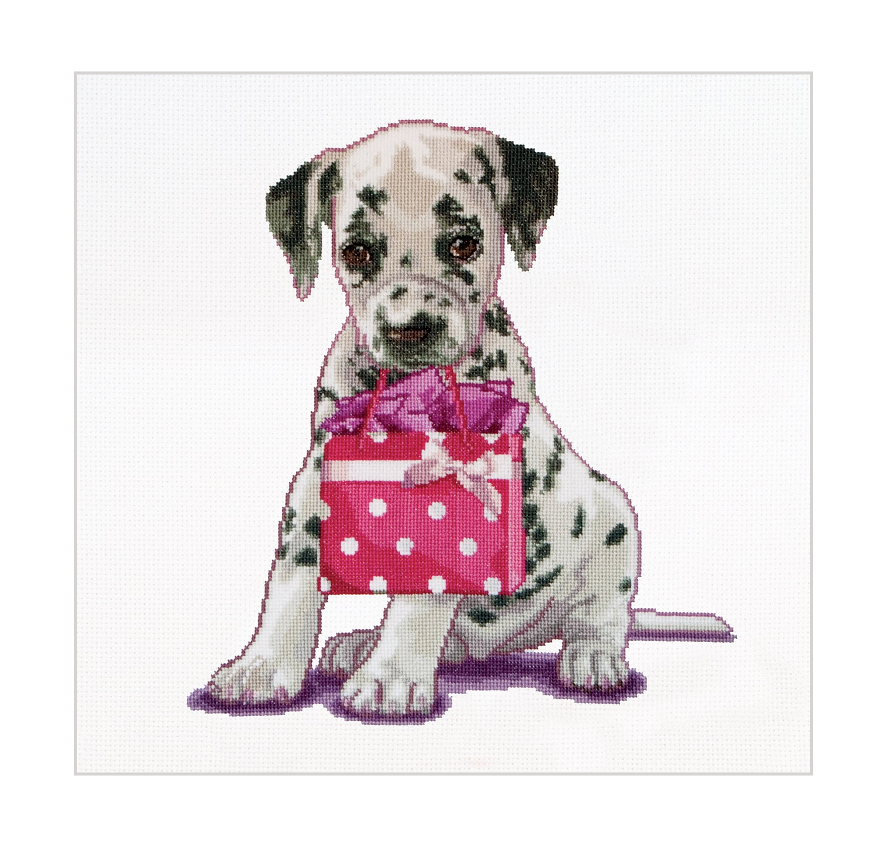Puppy Went Shopping - Cross-Stitch Kit