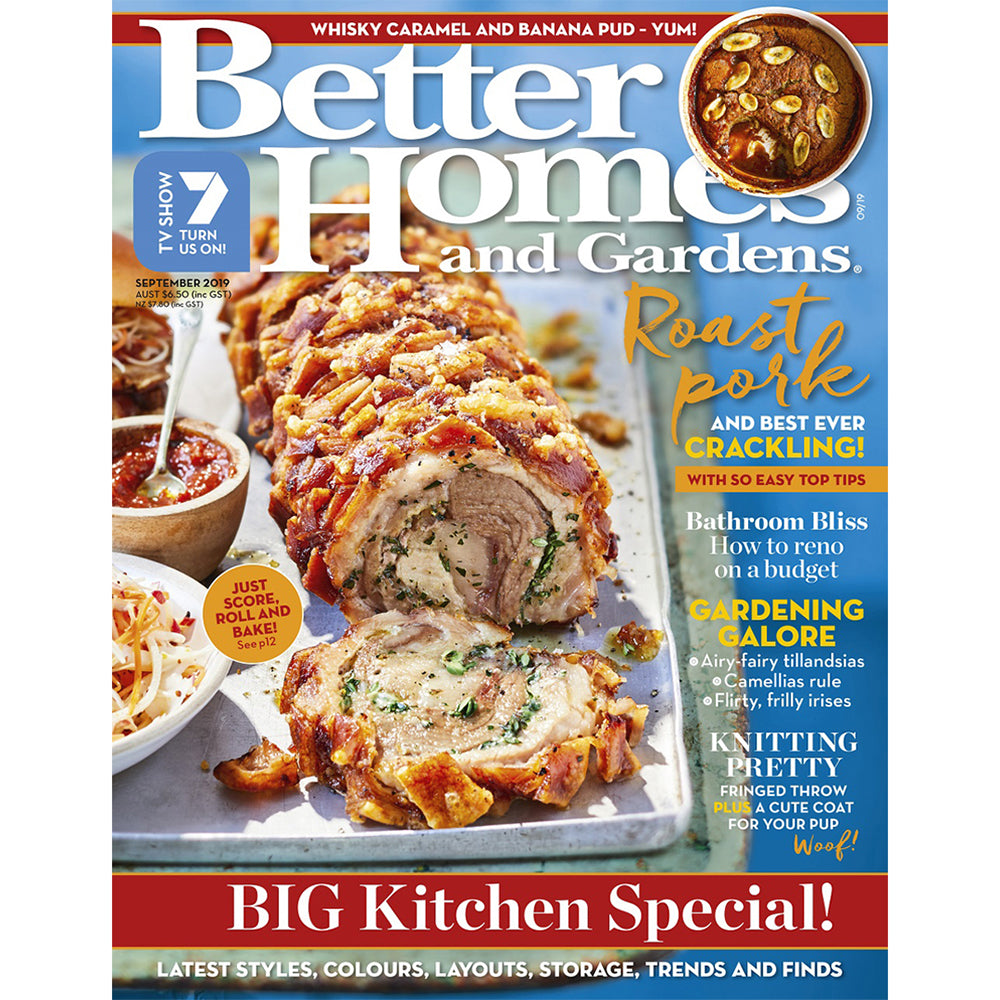 Better Homes and Gardens - September 2019
