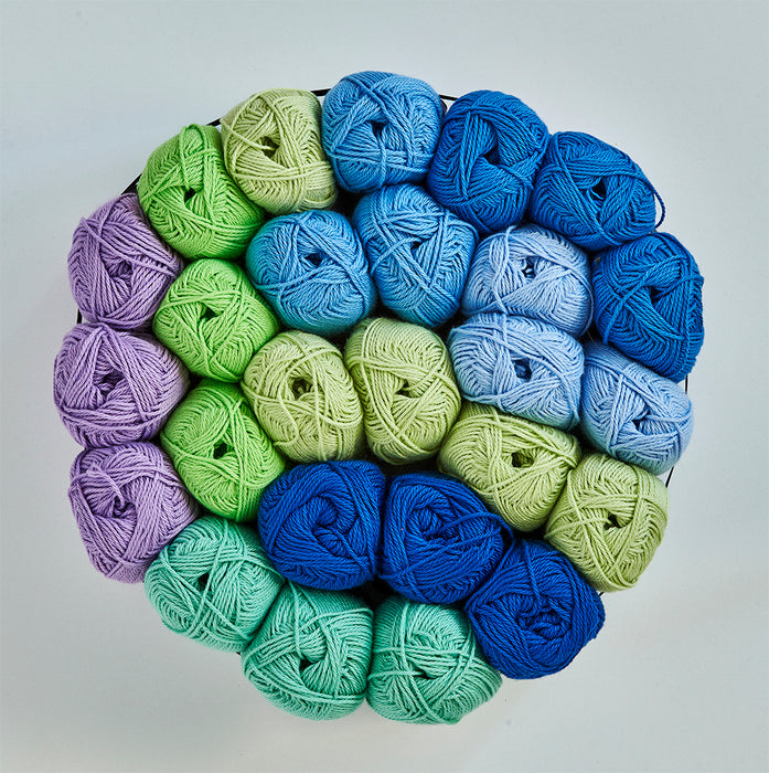Cool Spring Garden Crochet Kit