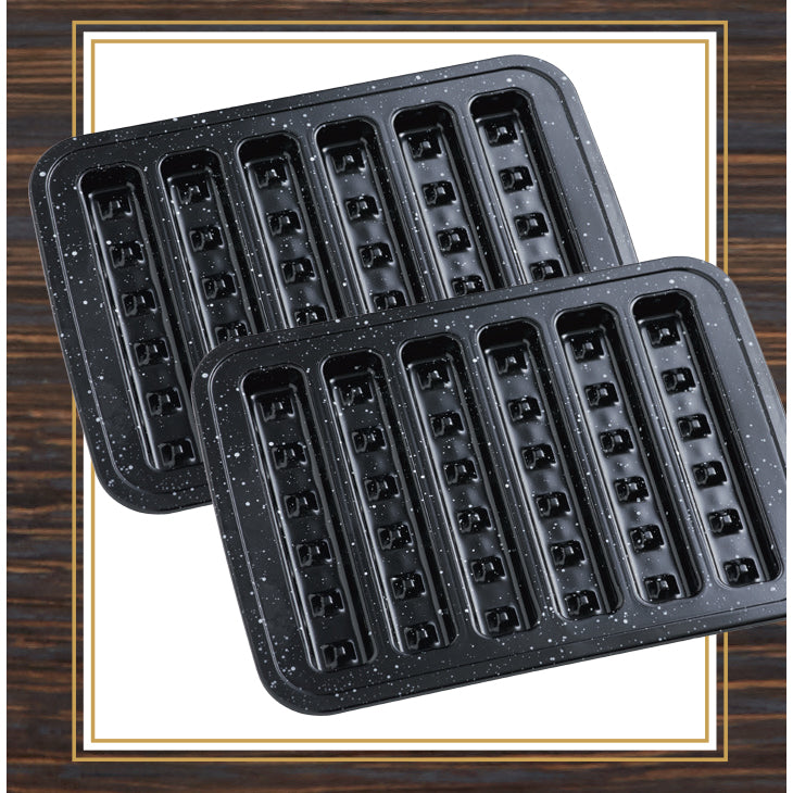 Waffle Stick Pans - 2 Pack!