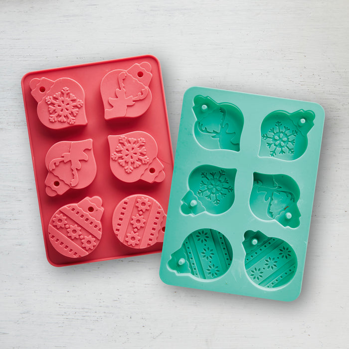 Christmas Bauble Make & Bake Moulds - 2 pack!