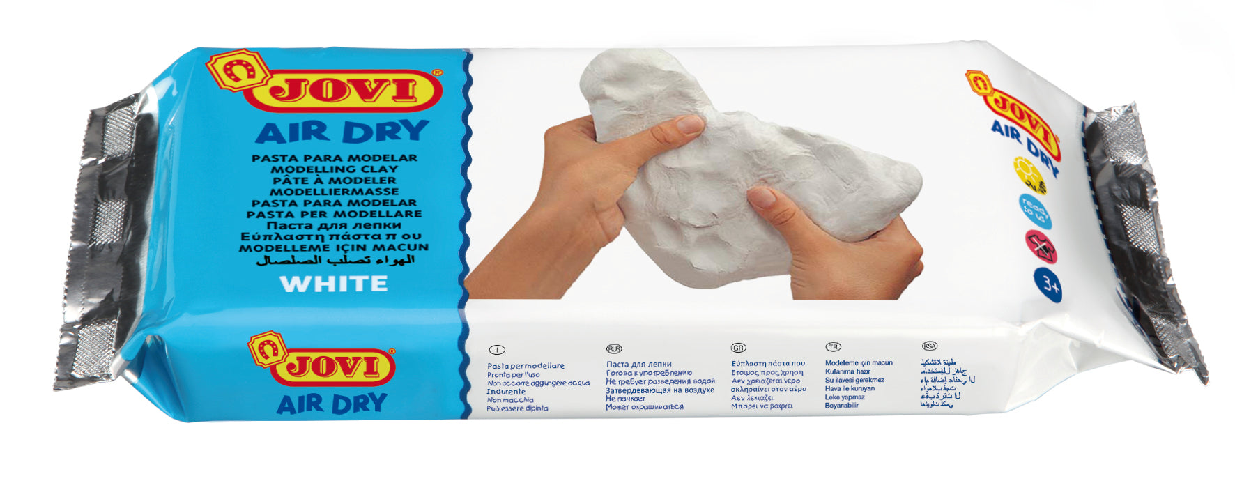 Jovi-Air Dry Clay White 250gsm