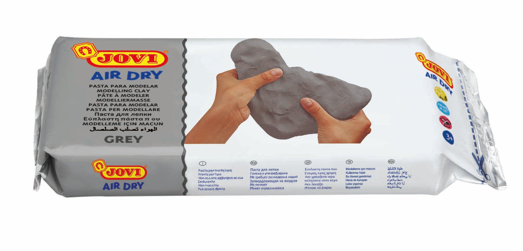Jovi Air Dry Clay Grey 1kg