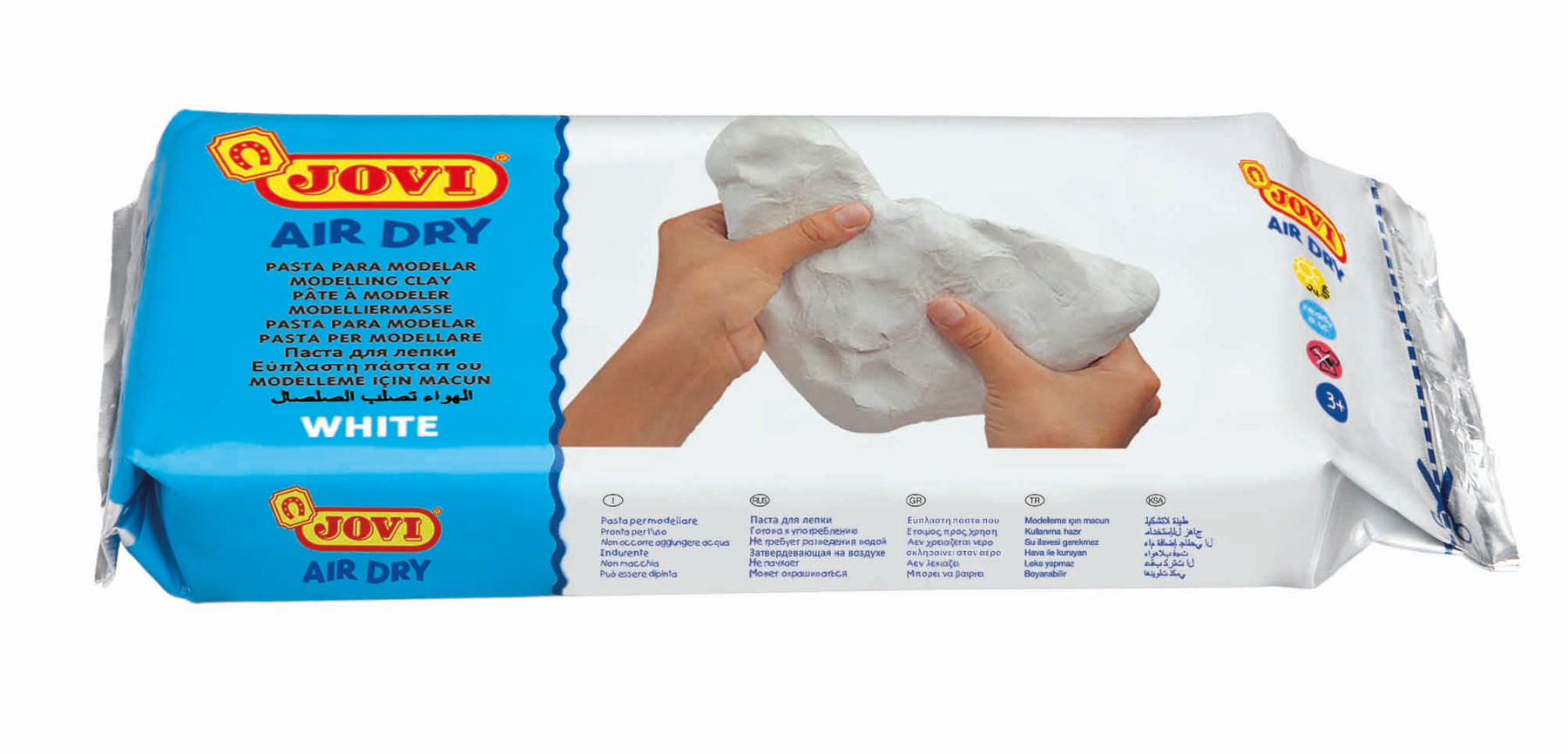 Jovi Air Dry Clay White 1kg