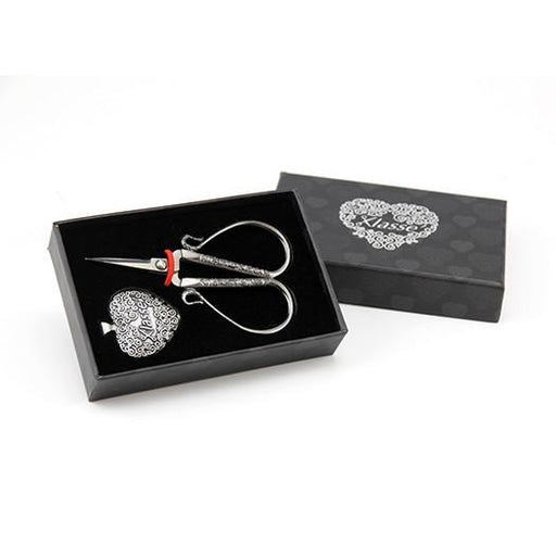 Scissors Gift Set Decorative Embroidery Plus Hear