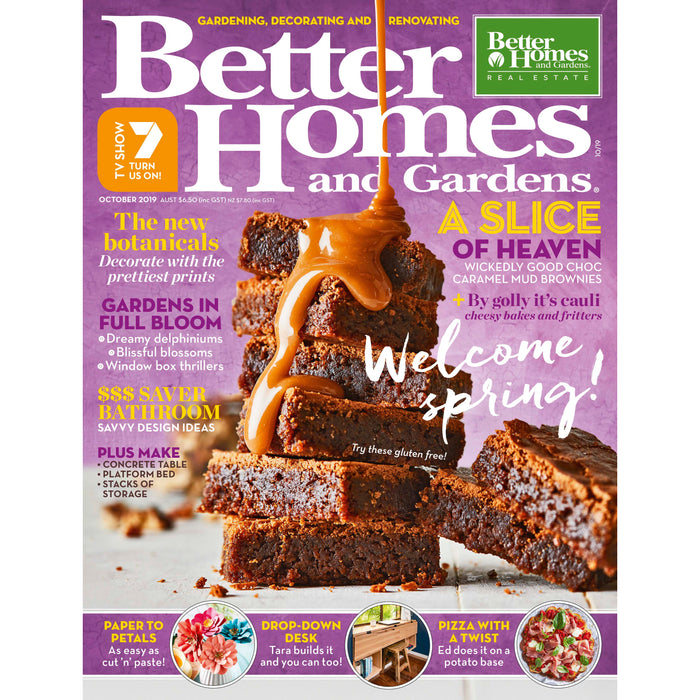 Better Homes and Gardens- October 2019