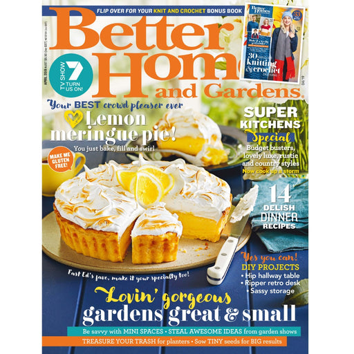 Better Homes and Gardens - April 2019