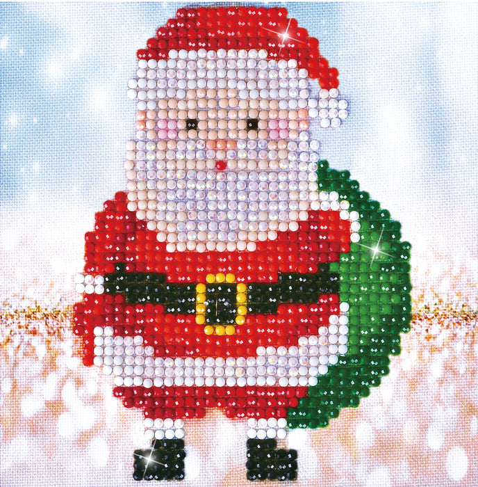 Diamond Dotz Santa Claus Sack Picture