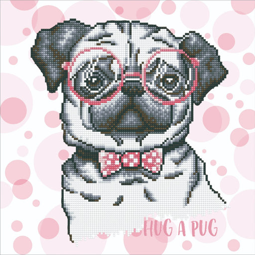 Diamond Dotz Hug A Pug